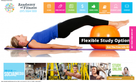 Academy of Fitness  Online personal training courses – Cert 3   4